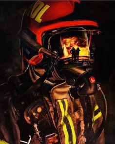 Firefighter Apparel, Firefighter Decor, Wildland Firefighter, Firefighter Quotes, Volunteer Firefighter, Fire Dept, Fire Department, Fireman Tattoo, Fire Badge