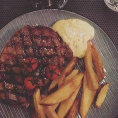 Traditionen tro var vi hos #dinnerbooking også til #dinnerdays - denne gang hyggelige #aristo på #islandsbrygge #restaurantfestival #kbh #københavn #delditkbh #restaurant #foodie #steak #fries #instagram