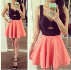 Fashionable Open Back Dress with Bowknot, Chic Summer