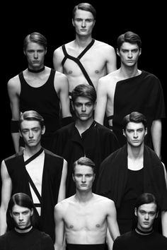 Collections by Assaf Reeb, Hampus Berggren & Nicomede Talavera at Central Saint Martins MA FW13.