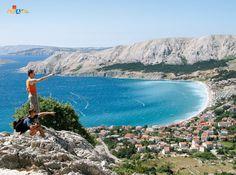 Baška on the island of Krk