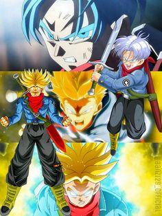 Mirai Trunks _ Future Trunks _ Dragon Ball Super by AlAnas2992
