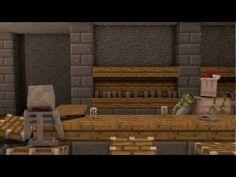 Zombie Head - A Minecraft Animation.  Too funny!