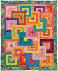Hyacinth Quilt Designs: Modern Courthouse Steps-courthouse block ... : courthouse quilt pattern - Adamdwight.com