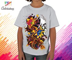 """'Fashion"""" is #Life and just like Life ,You must always express your feelings freely,So, here you will get opportunity to express your artwork on t-shirts with your own #customized #design with www.coloristees.com"""