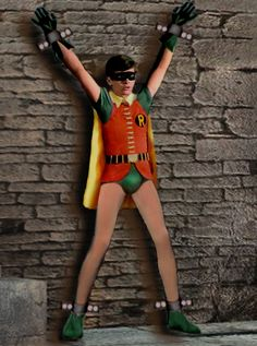 Can robin the boy wonder bondage pictures pity