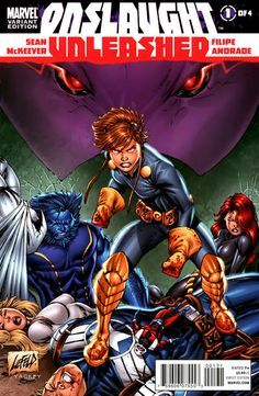Onslaught Unleashed # 1 (Variant) by Rob Liefeld
