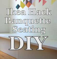 ideas for banquette seating diy ikea hacks Interior Decorating Tips, Diy Interior, Interior Design, Kitchen Booths, Kitchen Nook, Ikea Kitchen, Kitchen Ideas, Seating Chart Classroom, Seating Charts