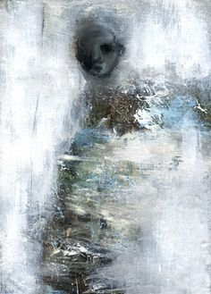Fran Williams/ A GHOST WALKING PAST/     2011/     Oil, Acrylic on canvas/     12x15cm