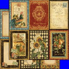 Other Papers: Graphic 45 - French Country Collection - 12x12 - A La Carte