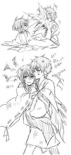 K Project. Munakata Reisi x Mikoto Suoh. By あわわ. http://wintertranslations.tumblr.com/post/63064615535/%E3%81%82%E3%82%8F%E3%82%8F