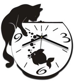 clock design ideas 564638872034750397 - Reloj gato y pescera Source by Woodworking Clock Ideas, Paper Snowflake Designs, Aluminum Foil Art, Pallet Clock, Wall Watch, Cat Clock, Retro Clock, Wall Clock Design, Record Art