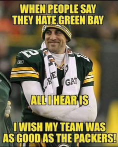 Green Bay Packers Lovers storefront by FanPrint. Packers Memes, Packers Funny, Funny Football Memes, Packers Baby, Go Packers, Funny Sports Memes, Packers Football, Sports Humor, Greenbay Packers