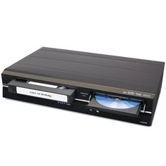 The VHS To DVD Converter  -preserves your memories by transferring VHS recordings to DVDs with the touch of a button.