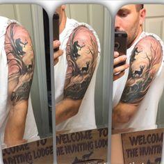 cool Top 100 hunting tattoos - http://4develop.com.ua/top-100-hunting-tattoos/