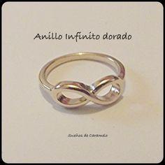 Anillo Dorado Infinito 4,95€ Pedidos: paquinatari@gmail.com