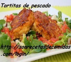 Tortitas de pescado – Recetas de Cocinas
