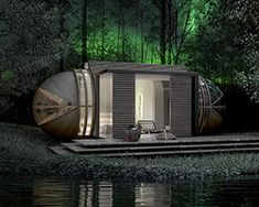 In tenta eco tourism cabin