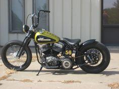 1956 Harley Davidson PANHEAD, CUSTOM BUILD BOBBER