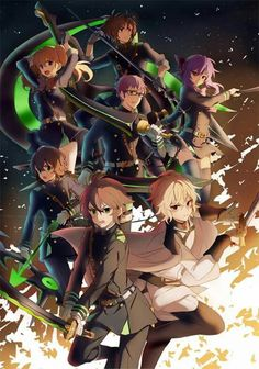 457 best seraph of the end images seraph of the end owari no