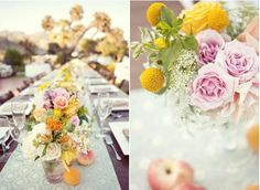 Romantic Garden Party Wedding Inspiration - Style Me Pretty Bright Wedding Flowers, Summer Wedding Colors, Waterfront Wedding, Nashville Wedding, Garden Party Wedding, Farm Wedding, Wedding Table, Hipster Wedding, Handmade Wedding