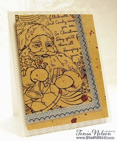 Stunning in it's simplicity! Jazzy Paper Designs: Stampendous! and Art Anthology Blog Hop! @stampendous @artanthology