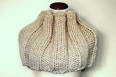 Hand Knit Extra Cozy Infinity Scarf Cowl   by RachelsKnitKnacks