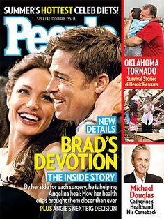 ON NEWSSTANDS 5/24/13: How Brad helped Angelina heal after her double mastectomy. Plus: The heroes and survivors of the Oklahoma tornado and more.