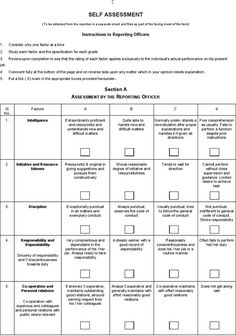 Free Employee Self Evaluation Template Forms Google Search Baja