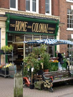 home and colonial stores, leek, staffordshire (english peak district) I used to get sweets from here as a child