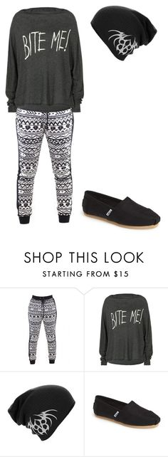 """""""Untitled #549"""" by gibbgibb ❤ liked on Polyvore featuring Wildfox and TOMS"""