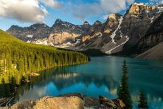 Morning along the Valley of the Ten Peaks, Banff National Park, Alberta Canada - © Christopher Martin photos- Vacation Places, Vacation Destinations, Vacation Spots, Places To Travel, Places To See, Banff National Park, Rocky Mountain National Park, National Parks, Quebec