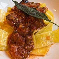 Pappardelle With Chicken Livers