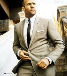 Jason Statham - The man sure looks good in a suit!