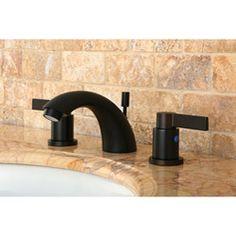 KOHLER Linwood In Centerset Handle WaterSaving Bathroom Faucet - Oiled bronze bathroom faucet