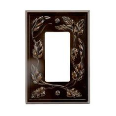Amerelle Wall Plates Adorable Amerelle Filigree Border 1 Toggle Wall Plate  Tin8330Tft At The Design Ideas