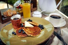 Delicious country breakfasts