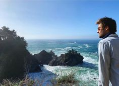 Truly one of the most epic meetings of land and sea 🌊 Douglas Booth, Big Sur, Niagara Falls, Landing, Handsome, Meet, Beach, Water, Travel