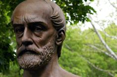 Stone faces - Giuseppe Mazzini, New York