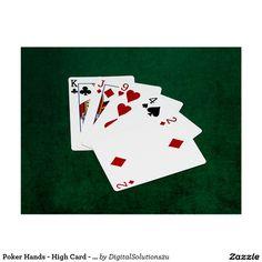 Poker Hands - High Card - King