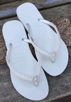 Zapatillas para mujer Correa de Frozen de oficina adornado Blanco Pisos