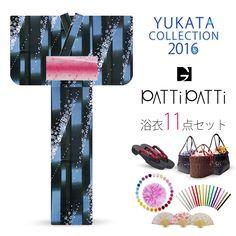 2016 Summer Patti Patti Kozakura Black Blue 11 items set