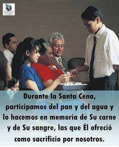 La Santa Cena es una ordenanza del santo sacerdocio que nos recuerda la expiación del Salvador.