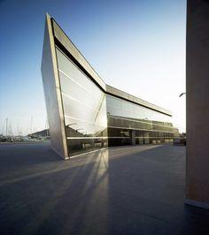National Museum of Underwater Archaeology  -  Architects: Estudio Vázquez Consuegra  ~  Location: Cartagena, Murcia (Spain)  ~  Project Architect: Guillermo Vázquez Consuegra