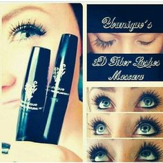 Younique's 3d fiber Lashes increases natural lashes by 300%! No lash extensions, no glue ! Easily applied like mascara but made with natural green tea fibers! Get yours today, jenluxe@gmail.com!