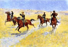 Image detail for -Other Frederic Remington paintings for sale Apache Indian, Frederic Remington, Hunting Painting, Diy Painting, Samurai, Wolf, Art Database, Le Far West, Poster Prints