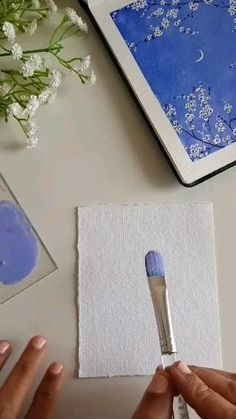 Small Canvas Art, Mini Canvas Art, Diy Canvas, Small Canvas Paintings, Easy Canvas Art, Easy Canvas Painting, Watercolor Art Lessons, Watercolor Art Landscape, Watercolour