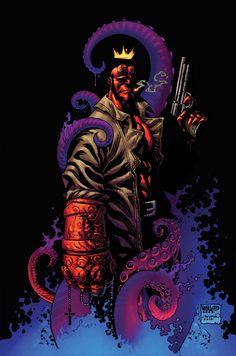 Hellboy by Micah J Gunnell