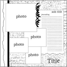"""scrapbook page - i LOVE page maps!!!  ABSOLUTELY FREE LAYOUTS can be found and, well, """"scrap lifted"""" from here!!"""