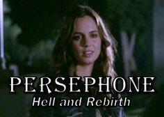 Buffy The Vampire Slayer women as Greek Goddesses